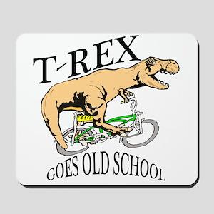T Rex goes old school Mousepad