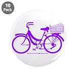 Purple Bike with Basket 3.5