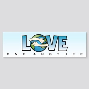 LOVE ONE ANOTHER - Bumper Sticker