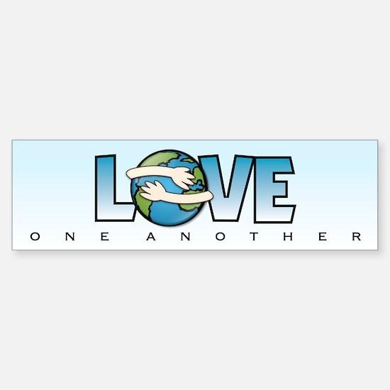LOVE ONE ANOTHER - Bumper Bumper Bumper Sticker