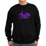 Purple Bike - Awesome! Sweatshirt (dark)