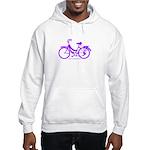 Purple Bike - Awesome! Hooded Sweatshirt