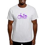 Purple Bike - Awesome! Light T-Shirt
