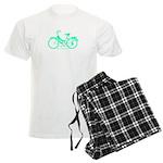 Teal Bicycle Sans basket Men's Light Pajamas