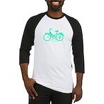 Teal Bicycle Sans basket Baseball Jersey
