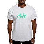 Teal Bicycle Sans basket Light T-Shirt