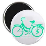 Teal Bicycle Sans basket Magnet