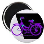 Bicycling Cyclists Magnet