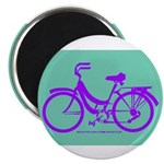 Bike Design 80s/90s Colors Magnet
