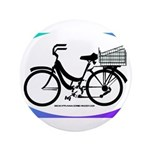 Bicycle Decal with basket 3.5