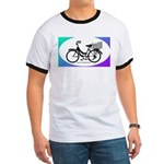 Bicycle Decal with basket Ringer T