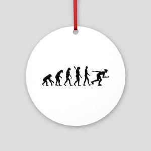 Evolution inline skating Ornament (Round)