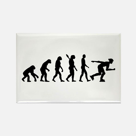 Evolution inline skating Rectangle Magnet