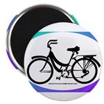 Bicycle Decal Magnet