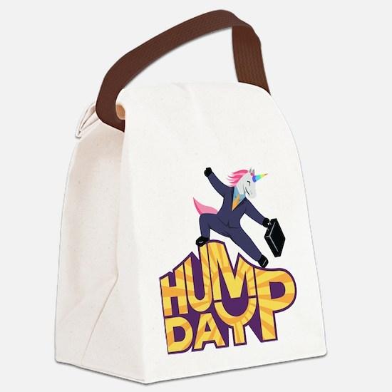 Emoji Hump Day Canvas Lunch Bag