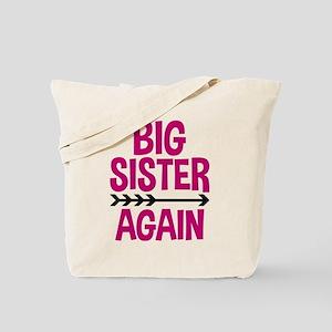 Arrow Big Sister Again Tote Bag