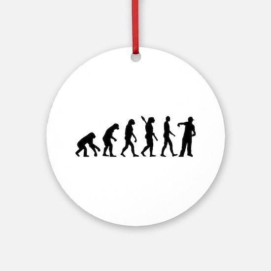 Evolution Rapper Ornament (Round)