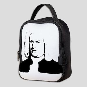 Johann Sebastian Bach, abstract Neoprene Lunch Bag