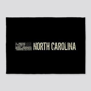 Black Flag: North Carolina 5'x7'Area Rug