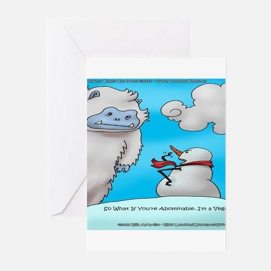 Vegam Snowman Greeting Cards (Pk of 20)