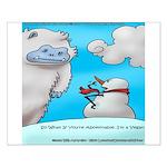 Vegam Snowman Small Poster