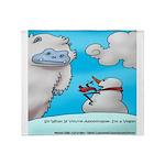 Vegam Snowman Throw Blanket