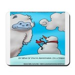 Vegam Snowman Mousepad