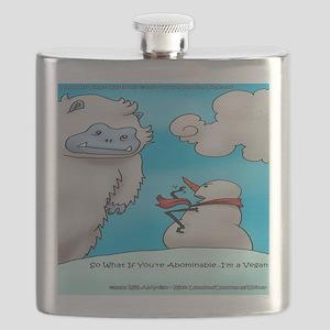 Vegam Snowman Flask