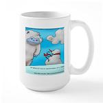 Vegam Snowman Large Mug