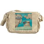 Vegam Snowman Messenger Bag