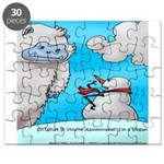 Vegam Snowman Puzzle