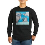 Vegam Snowman Long Sleeve Dark T-Shirt