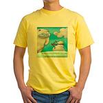 Vegam Snowman Yellow T-Shirt