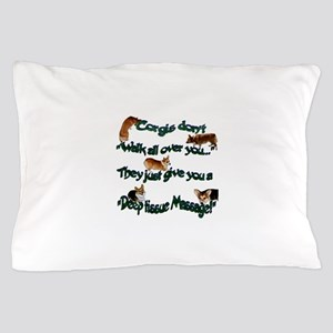Corgi Massage Pillow Case