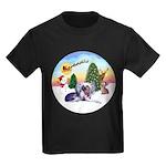 TakeOff-Crested #9 Kids Dark T-Shirt