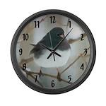 Dark-Eyed Junco Watercolor Large Wall Clock