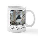 Dark-Eyed Junco Watercolor 11 oz Ceramic Mug