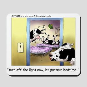 Pasteur Bedtime 4 Baby Cows Mousepad