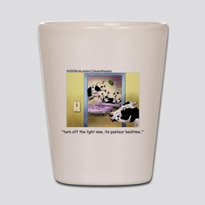 Pasteur Bedtime 4 Baby Cows Shot Glass