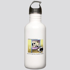 Pasteur Bedtime 4 Baby Cows Stainless Water Bottle