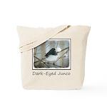 Dark-Eyed Junco Watercolor Tote Bag
