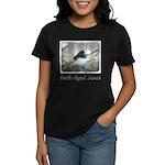 Dark-Eyed Junco Watercolor Women's Dark T-Shirt