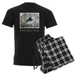 Dark-Eyed Junco Watercolor Men's Dark Pajamas