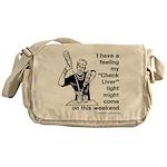 Check Liver - M Messenger Bag