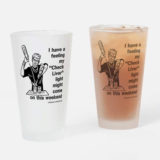 Check Liver - M Drinking Glass