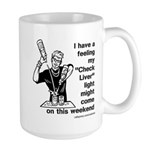 Check Liver - M Large Mug