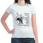 Check Liver - M Jr. Ringer T-Shirt