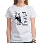 Check Liver - M Women's T-Shirt