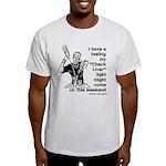 Check Liver - M Light T-Shirt