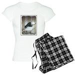 Dark-Eyed Junco Watercolor Women's Light Pajamas